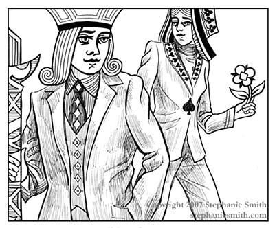 Suits — Illustration Friday