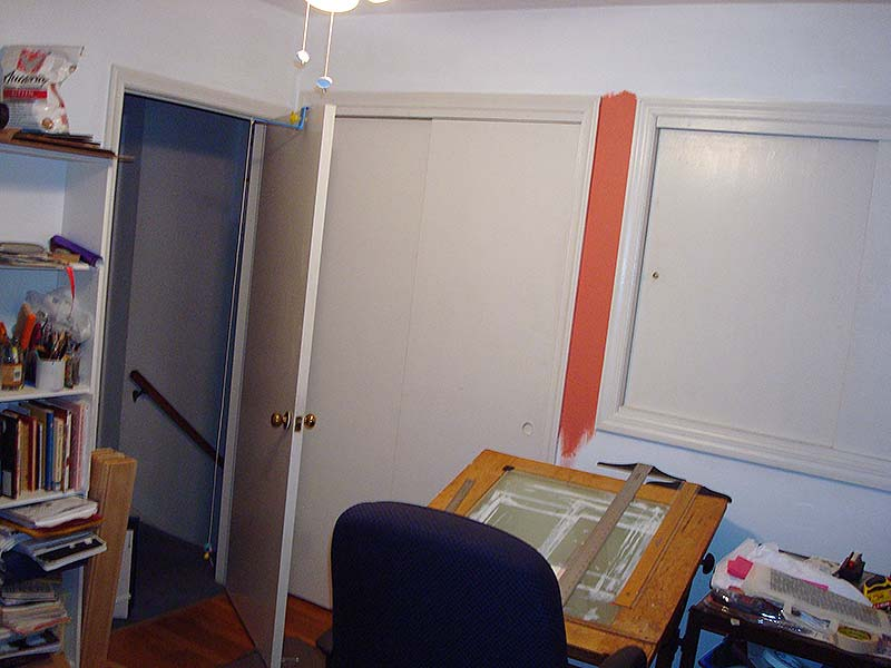 My studio, closets - Before