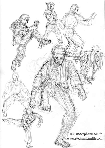 Sketchbook: Karate