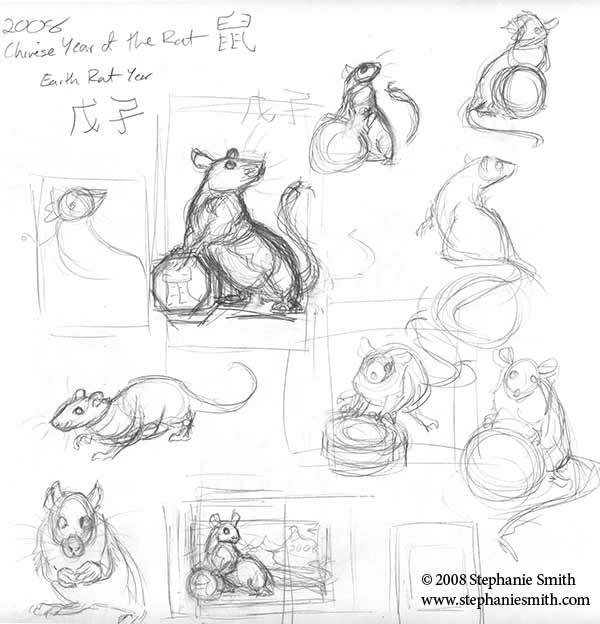 Sketches: Rat