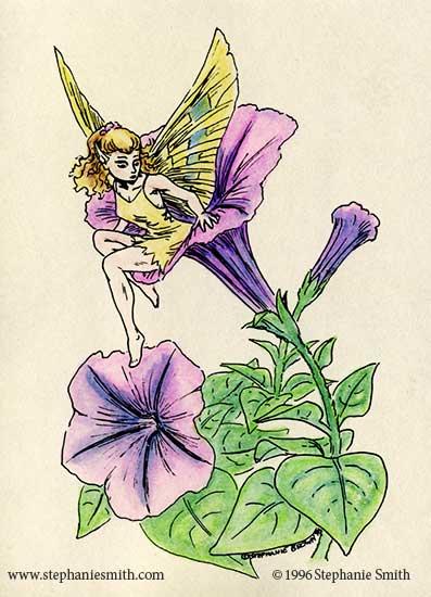Flower Fairy: Petunia