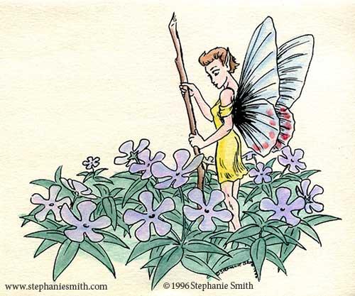 Flower Fairy: Tending Phlox