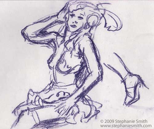 Dr. Sketchy Atlanta #2