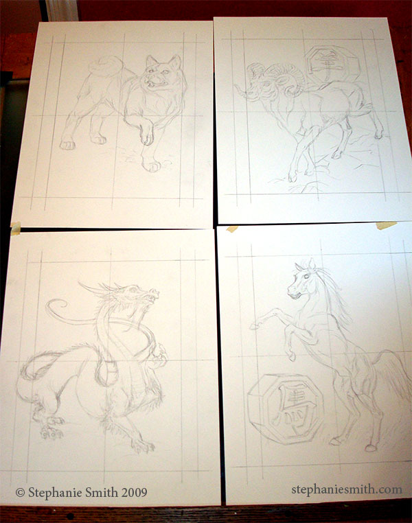Chinese Zodiac Batch 2 Pencils
