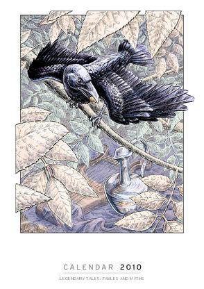 2010 Calendar: Legendary Tales