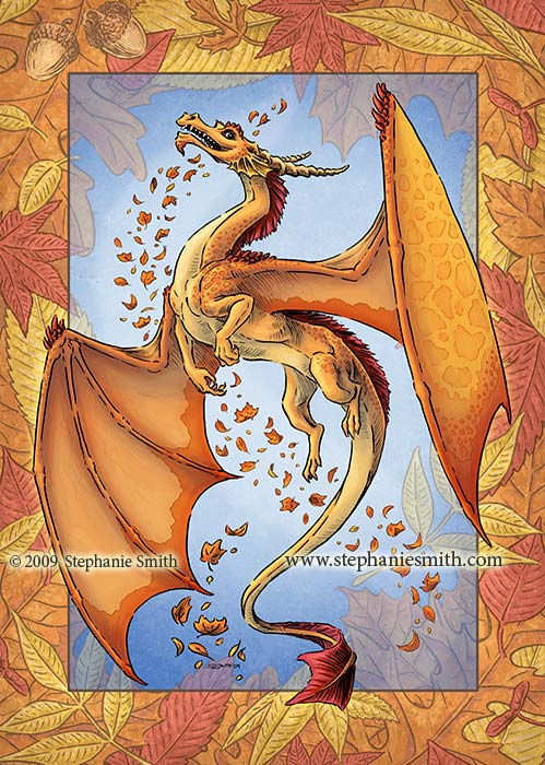 Dragon of Autumn — final artwork