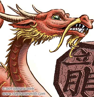 "Detail from ""Year of the Dragon"""