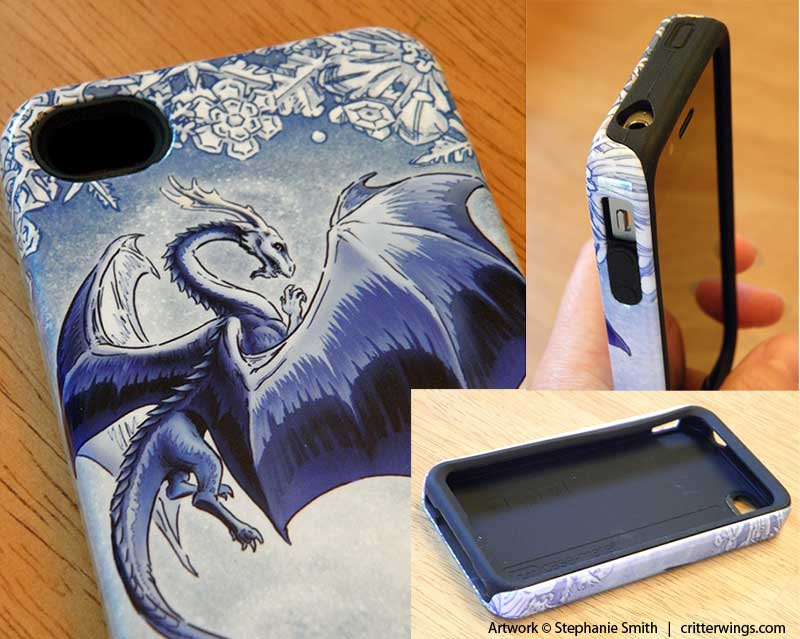 Dragon of Winter Case-Mate Tough iPhone 4 case - Details
