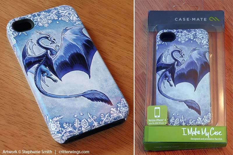 Dragon of Winter Case-Mate Tough iPhone 4 case