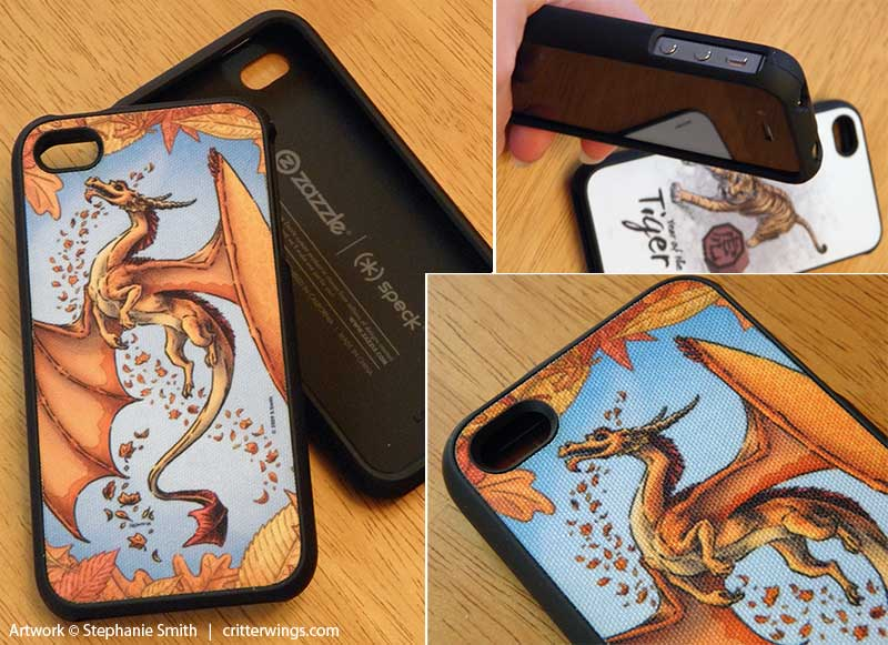 Dragon of Autumn Speck iPhone 4 case
