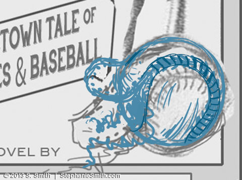 Baseball Drawing - Sketch