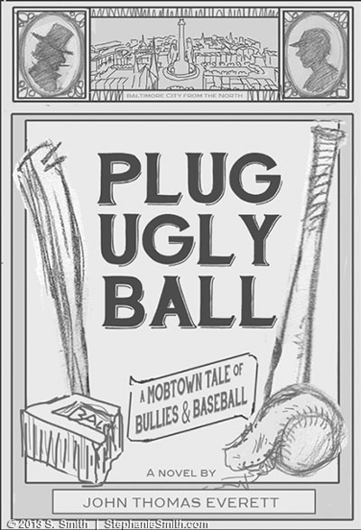 Plug Ugly Ball Cover - Final Sketch