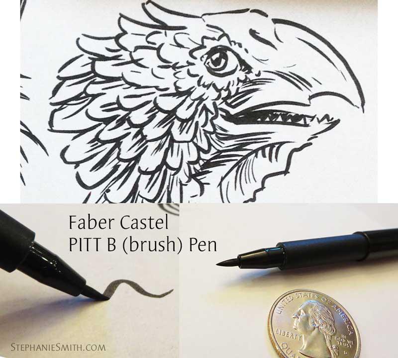 Faber Castell Pitt B sample details
