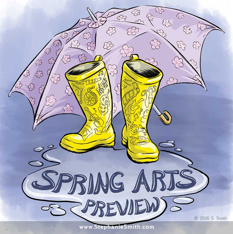 Spring Arts Preview for the Washington Post Express